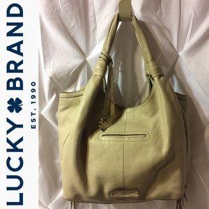 Lucky Brand Fringe 100% Leather Handbag